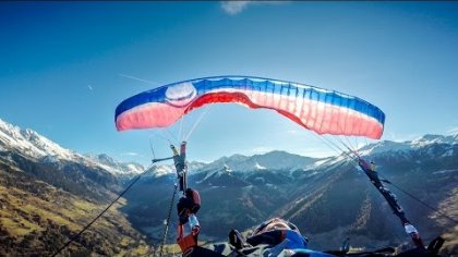 First helico + Dynamic full stall and SAT / Acro paragliding