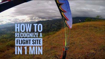 tutoriales sencillos por César Arévalo #1 cómo reconocer un sitio de vuelo. Rivas - Costa Rica.