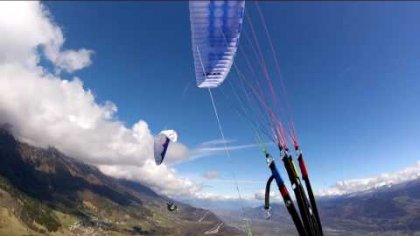 Acro paragliding week in St-Hilaire