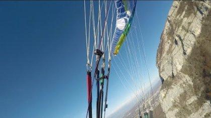 Bad Spin Good SAT paragliding