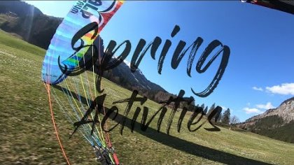 SPRING ACTIVITIES - MICHAEL LACHER - PARAGLIDING