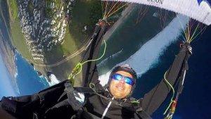 Drop over La Reunion Island
