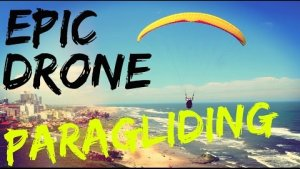 Best Drone Videos of Paragliding - 2015