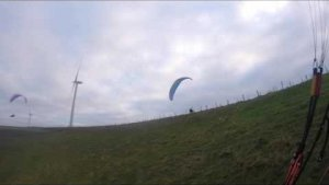 Paragliding freestyle frencq