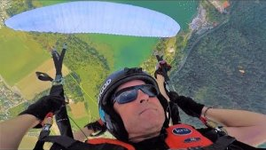 PARAGLIDING WITH MY DAD *CRAZY*