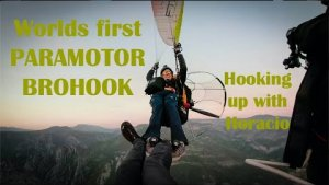 WORLD´S FIRST TWISTED PARAMOTOR BROHOOK with HORACIO LLORENS