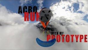 ACRO RUN IN THE CLOUDS WITH MY NOVA PROTOTYPE - THEO DE BLIC