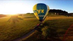 Gleitschirm D-Bag vom Heissluftballon 2017