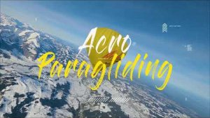 Acro Paragliding   Hot Air Balloon Exit
